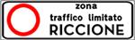 Mappa delle ZTL di Riccione